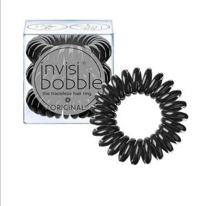 Invisibobble hair tie New 3 Pack Traceless Black
